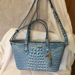 Brahmin Bags - Brahmin Mini Asher Melbourne Genuine Leather Bag